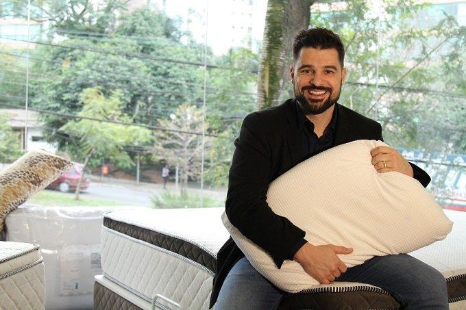 O empreendedor Felipe Pedroso, dono da Cia Do Sono