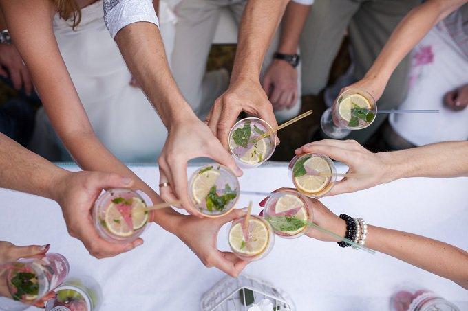 festa, happy hour, celebração, bebida