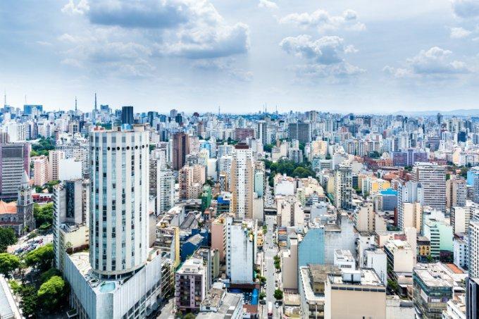 Cidade de São Paulo, no Brasil