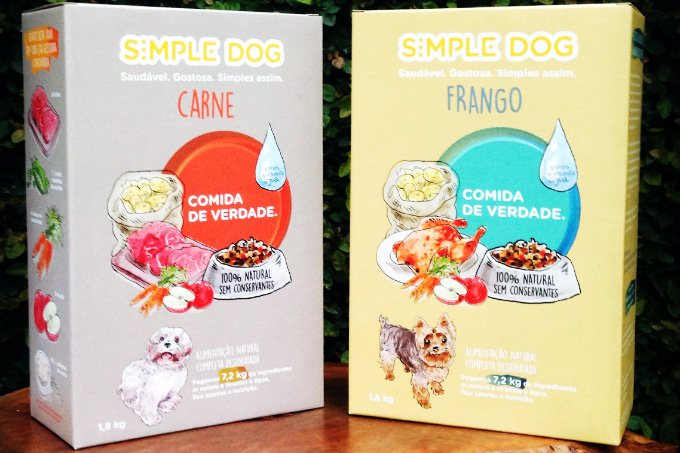 Rações do Simple Dog