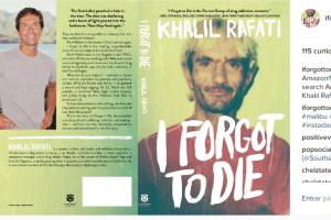 "O livro ""I Forgot to Die"", do empreendedor Khalil Rafati"