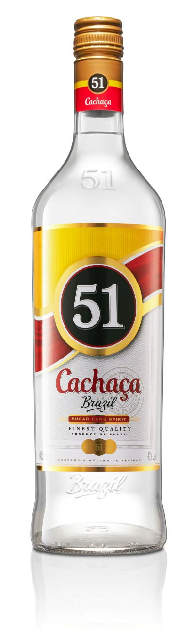 Cachaça 51 Exportação: mais especial, bebida vendida lá fora chega ao mercado brasileiro