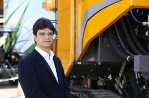 Denis Dutra, diretor de operações pela AGCO Corporation, 34 anos