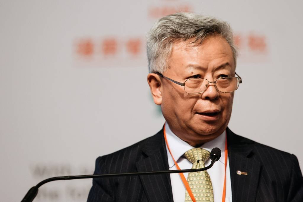 Jin Liqun, presidente do Banco Asiático de Infraestrutura (AIIB)