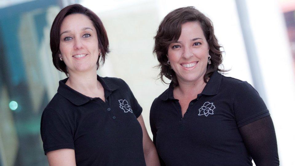 Lívia Mangini e Ana Gomes, da Magnólia Comunicação