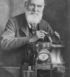 Lord Kelvin, o homem que media