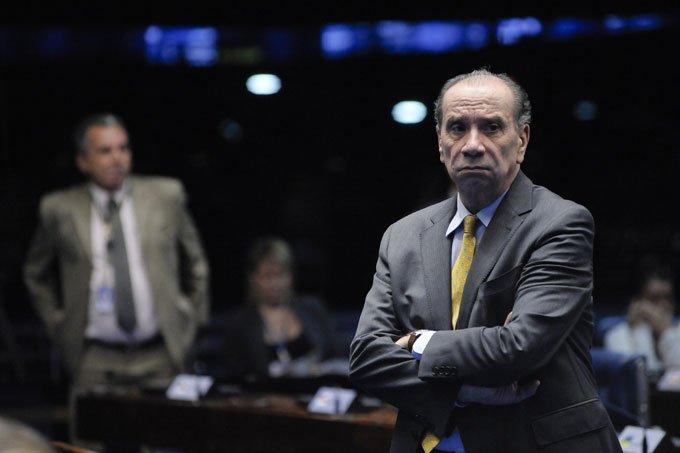 Senador Aloysio Nunes Ferreira durante votação no da PEC do Teto no Senado 13/12/2016
