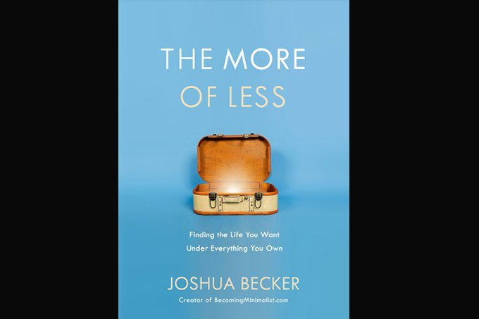 Livro The more of less