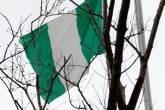 Bandeira da Nigéria em Taiwan, dia 12/01/2017