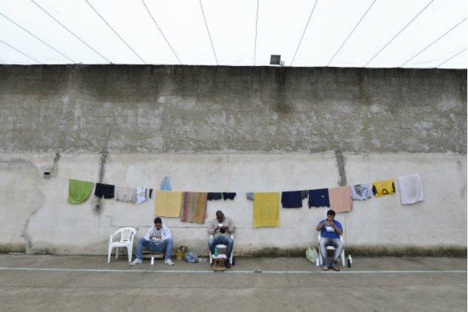 Detentos em oficina na Apac Lagoa da Prata