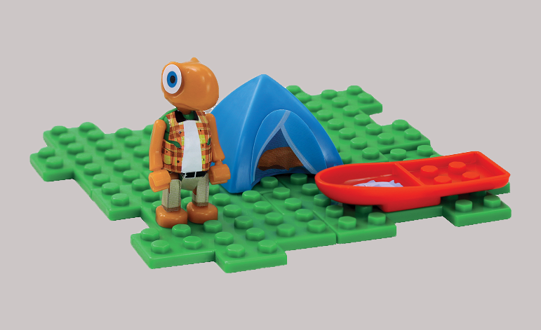 Brinquedos de Páscoa da Arcor