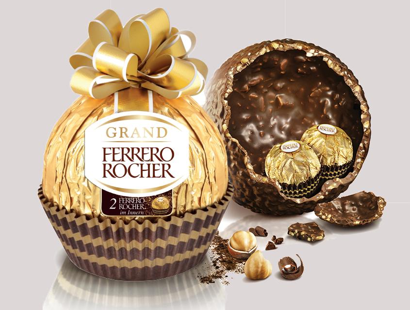 Ovos de Páscoa Ferrero
