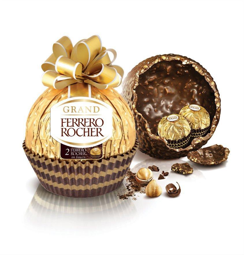 Grand Ferrero Rocher: lançamento de bombom gigante para a Páscoa no Brasil