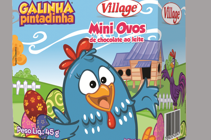 Ovos de Páscoa Village