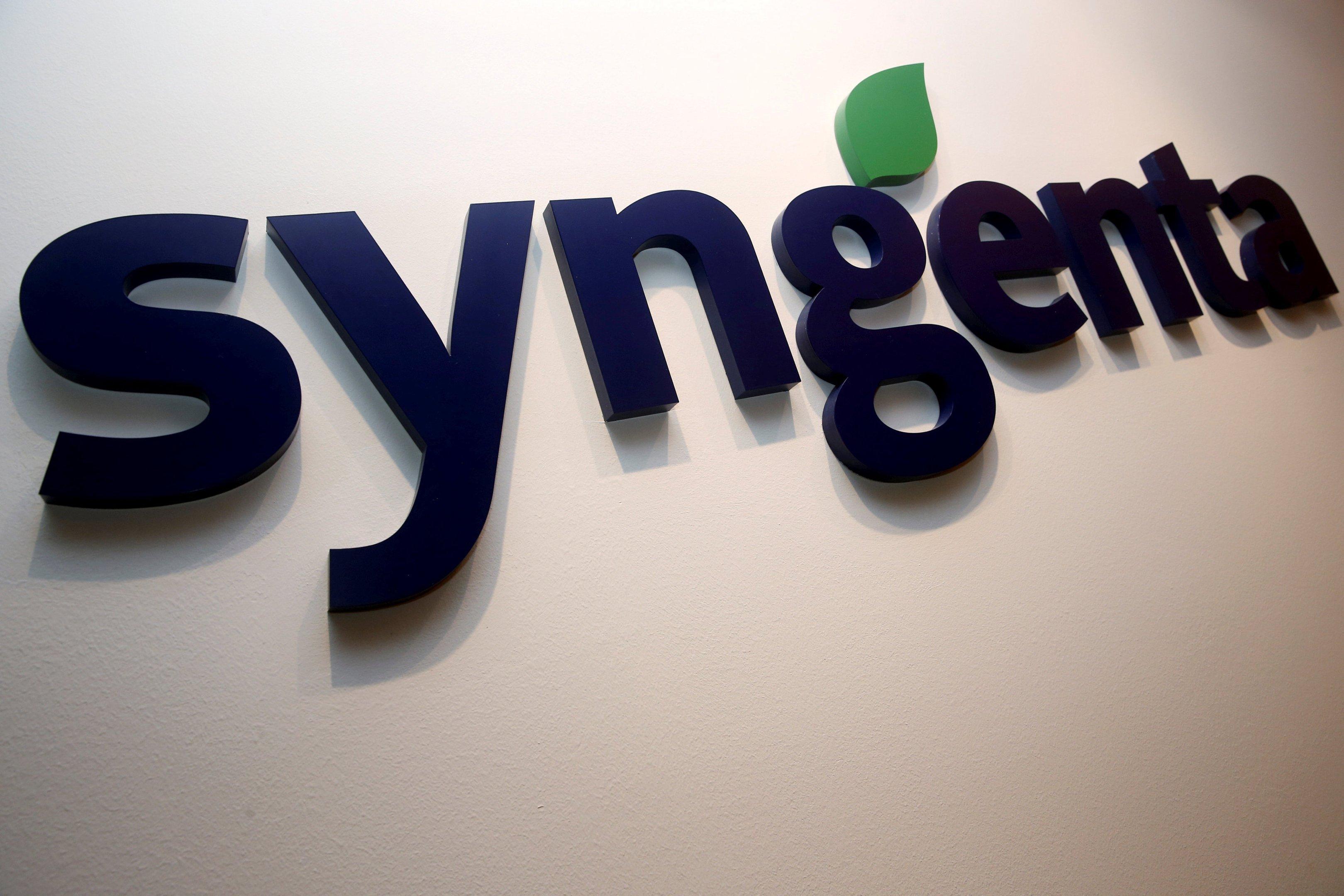 Logo da Syngenta, dia 12/02/2016