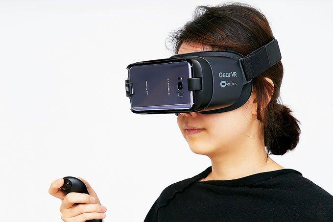 Gear VR: o novo dispositivo de realidade virtual da Samsung foi apresentado hoje (29)