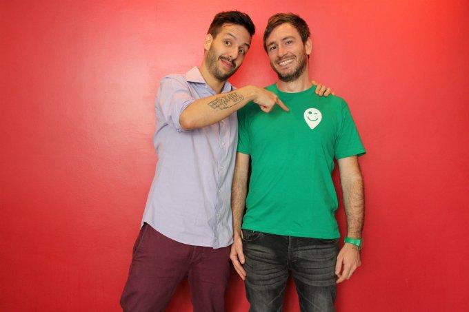João Paulo Costa e Enrique Torelli, da Who is Happy