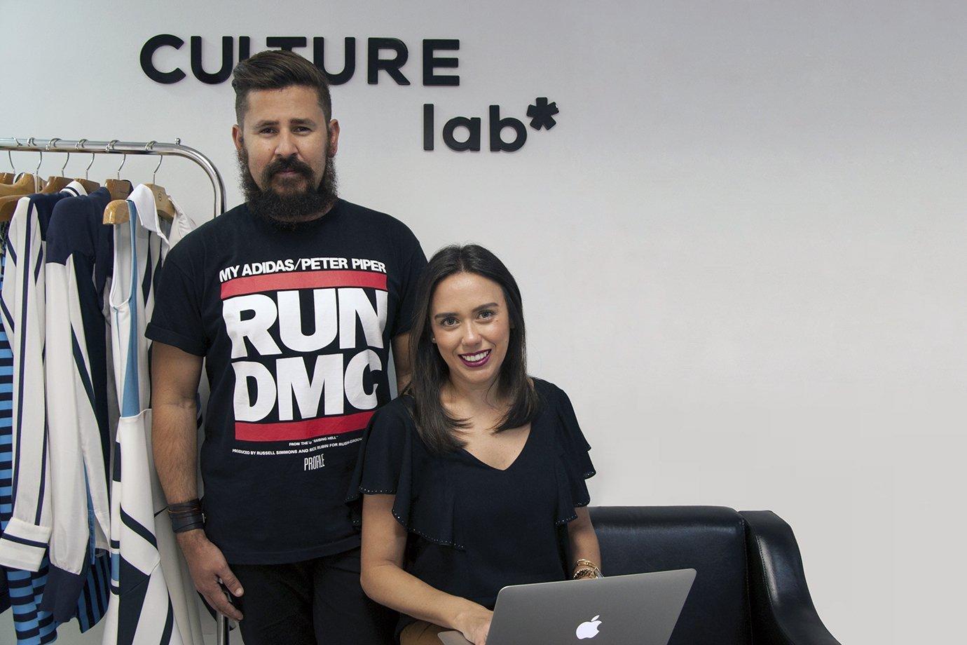 Márcia Graf e Paulo Henrique de Moura, da CULTURE Lab*