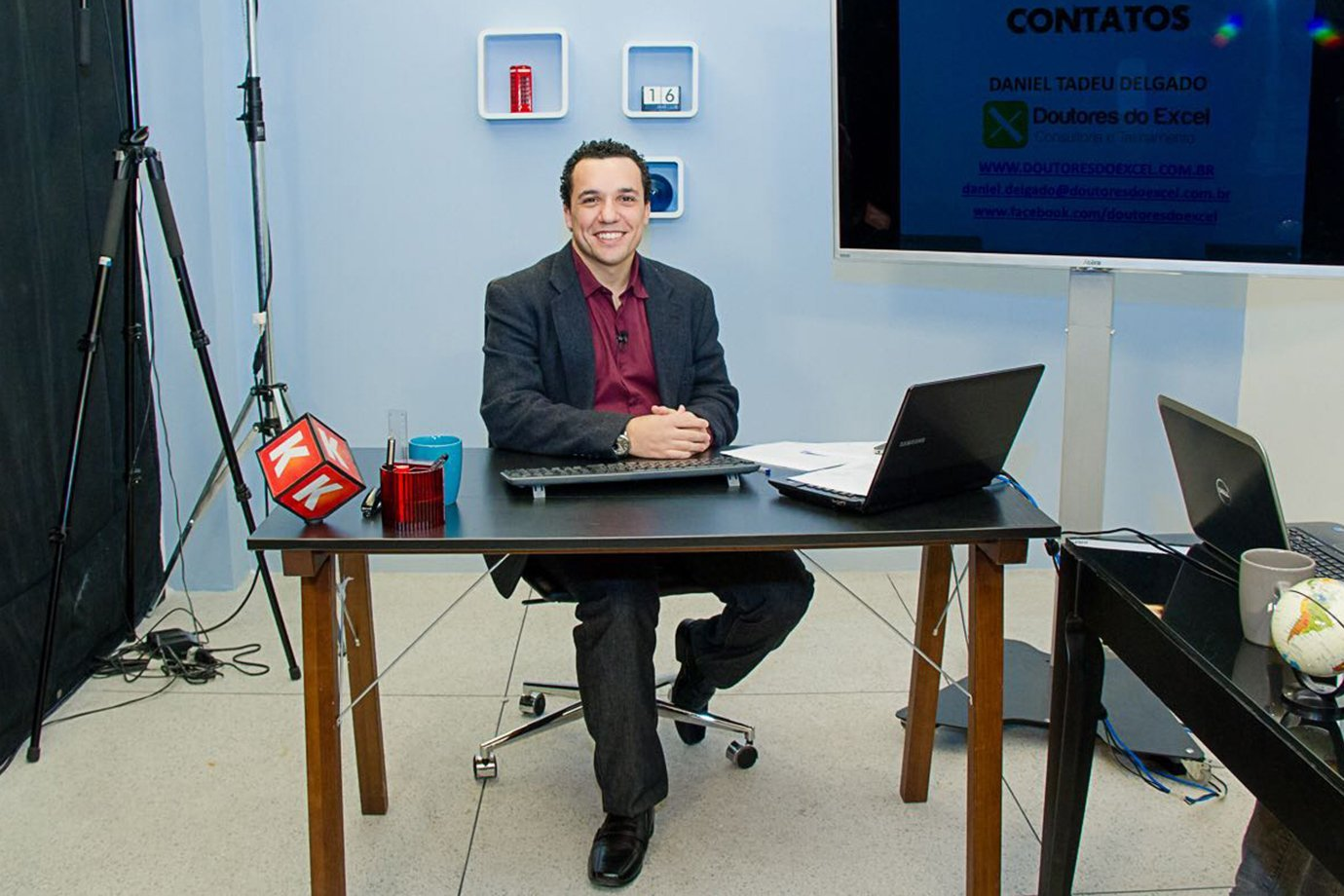 Daniel Delgado, do Doutores do Excel