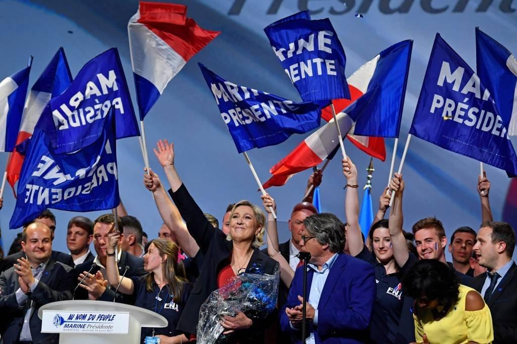 Marine Le Pen, extrema-direita, França, eleições