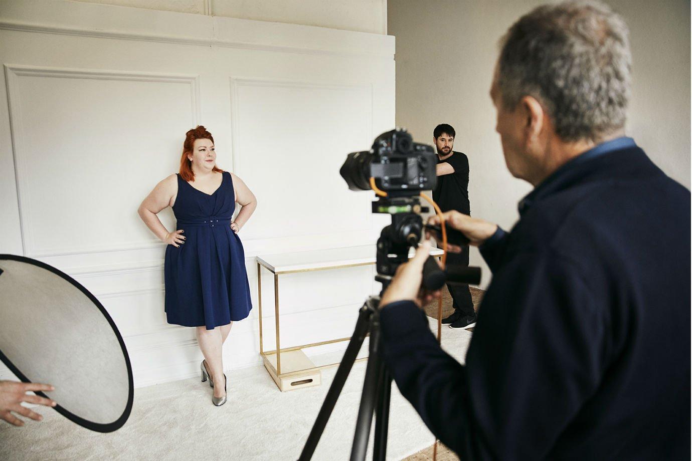 Mario Testino em trabalho para a Dove: nova campanha sobre a real beleza