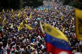 Protestos na Venezuela contra o presidente Nicolás Maduro 19/04/2017