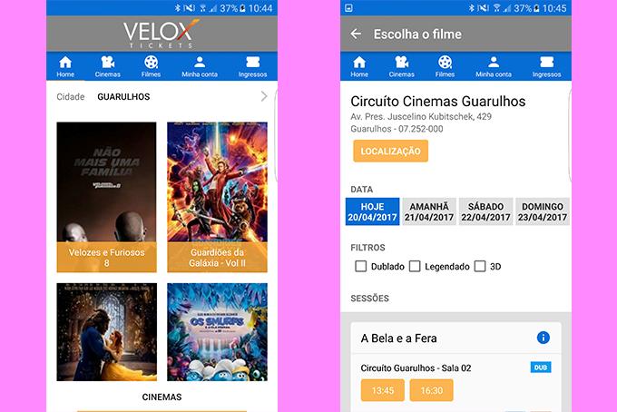 Velox-Tickets-App