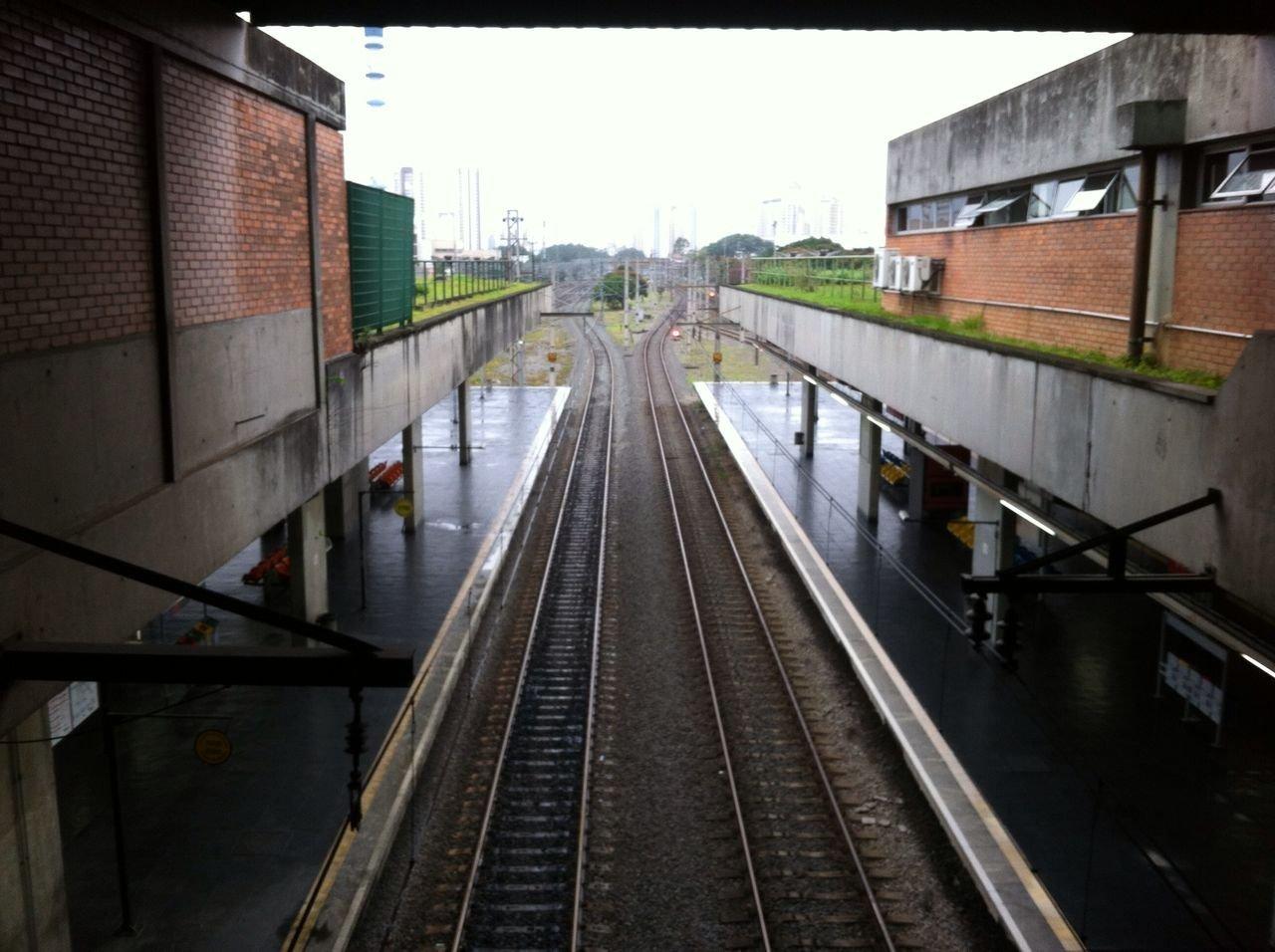 Estação Barra Funda de Trem vazia em dia de greve geral (28/04)