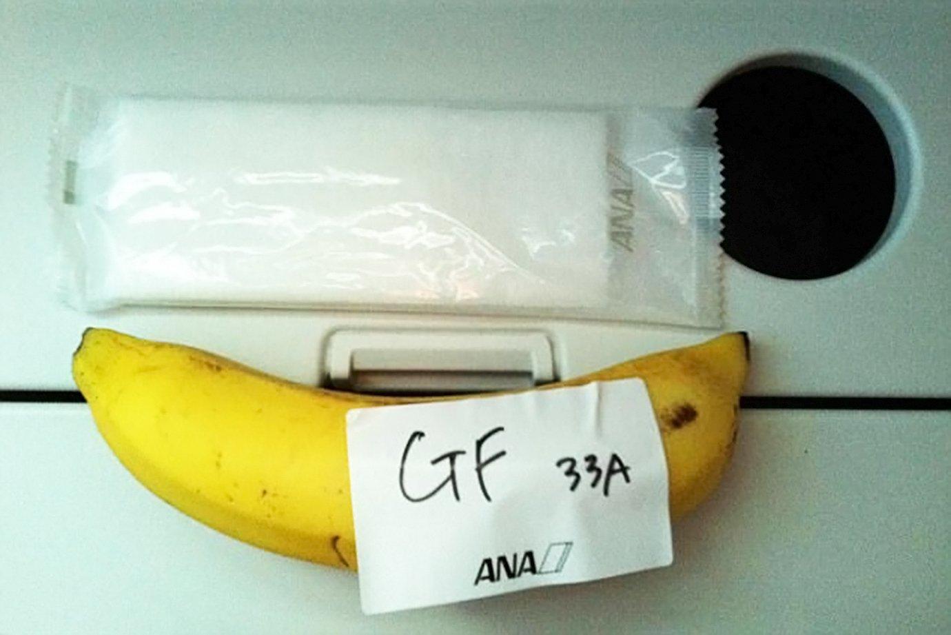 Passageiro pede refeição sem glúten na All Nippon Airways e recebe banana
