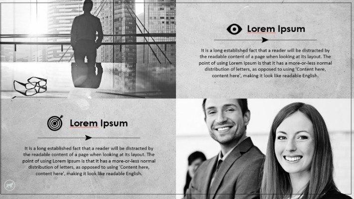 Modelo de PowerPoint corporativo