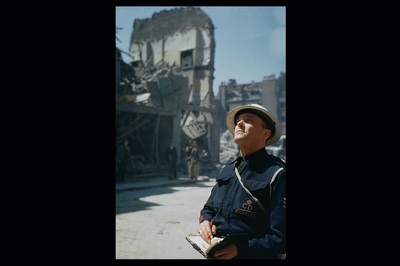 Fotos raras e coloridas da Segunda Guerra Mundial foram reunidas em livro do IWM