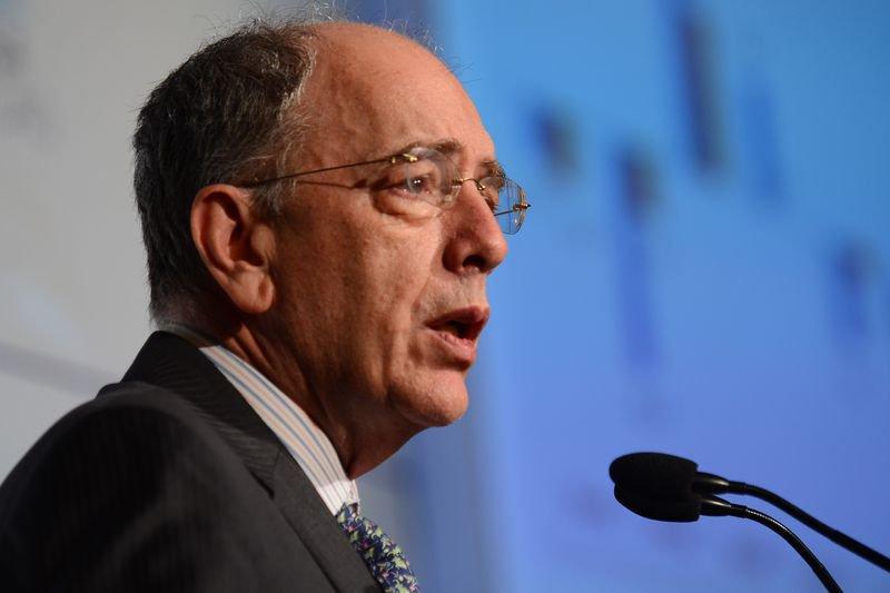 São Paulo - Presidente da Petrobrás, Pedro Parente, participa do encerramento do 19º Encontro Nacional de Investidores, na sede da Fecomércio