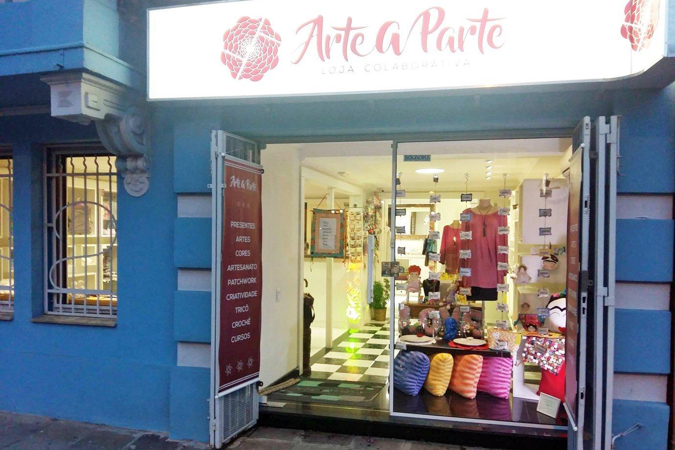 Arte à Parte, loja colaborativa em Porto Alegre