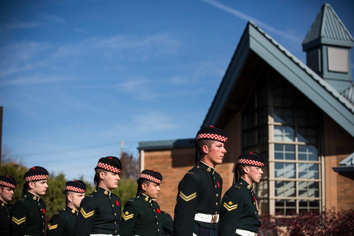 Soldados do Canadá