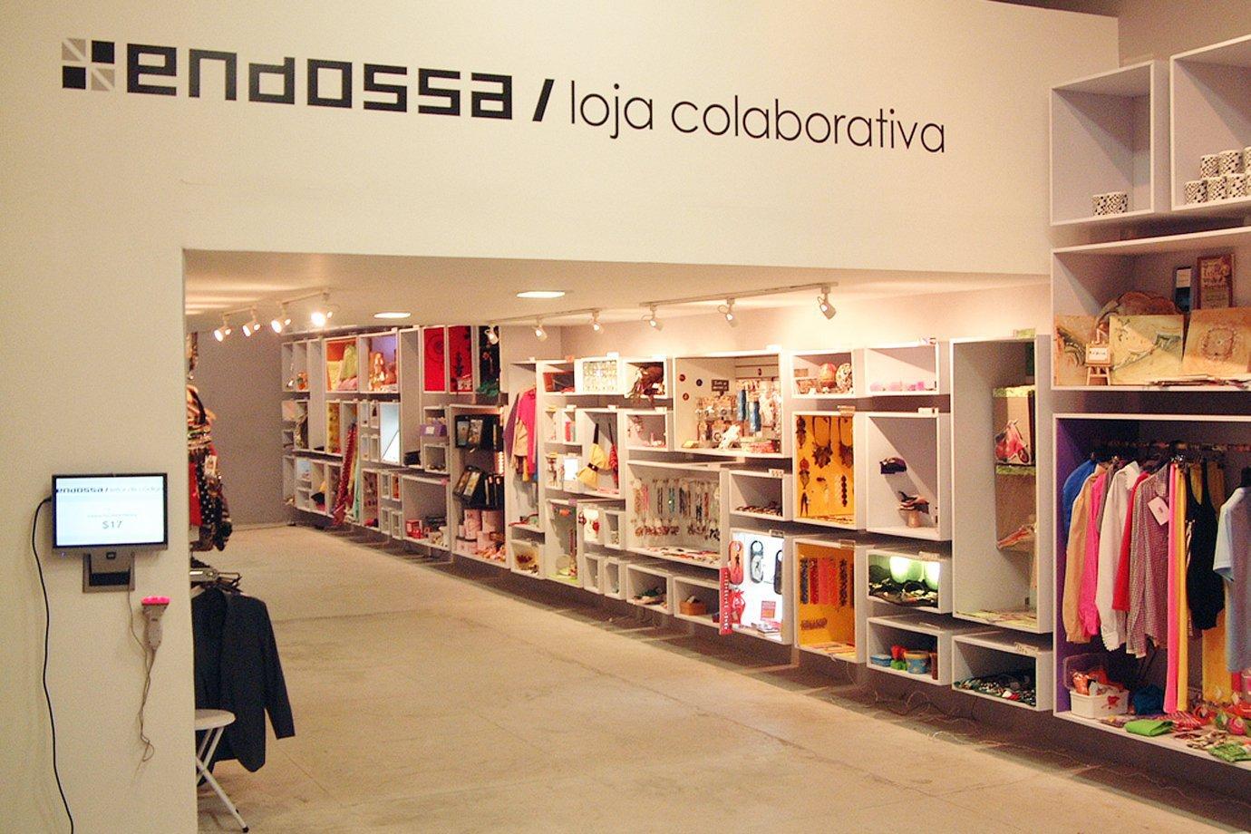 Endossa, loja colaborativa em São Paulo