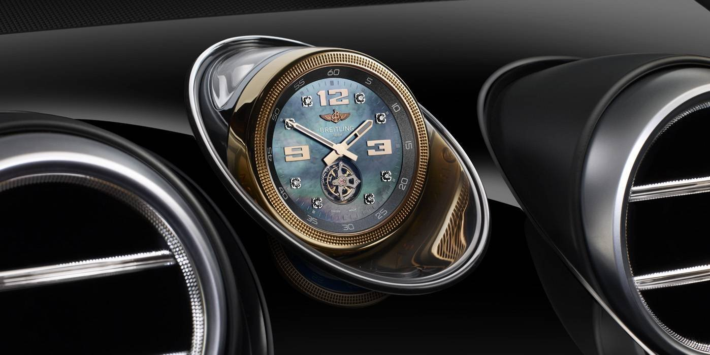 Relógio painel Bentley