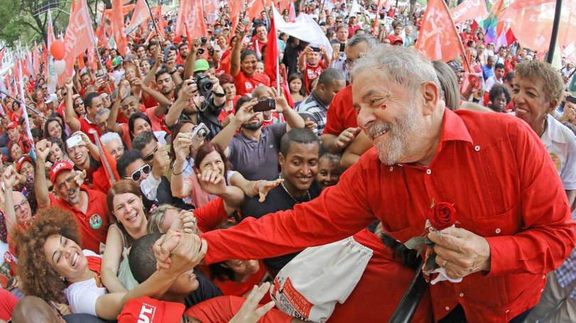Começa a campanha de Lula   Exame
