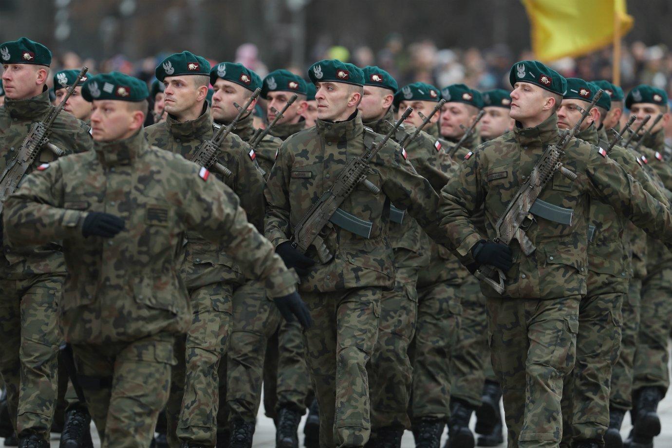Soldados da Polônia
