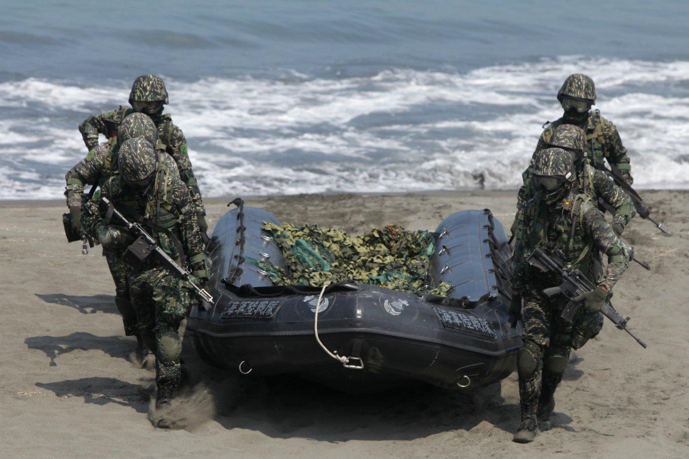 Soldados de Taiwan