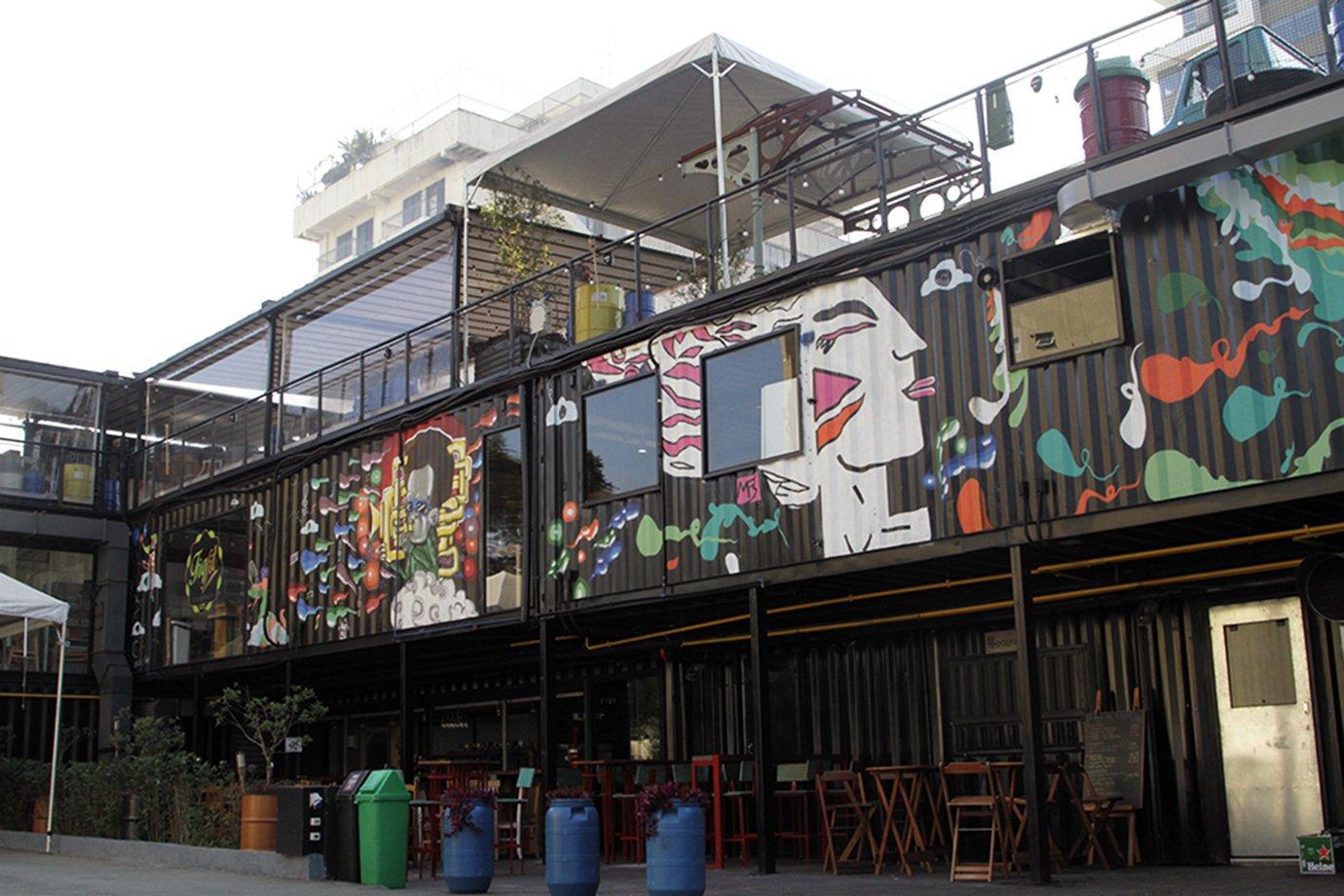 O centro de lifestyle Vila Butantan, em São Paulo