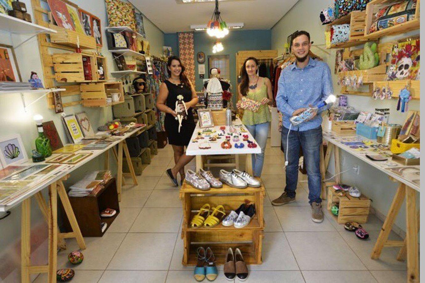 Virada Verde, loja colaborativa em Brasília