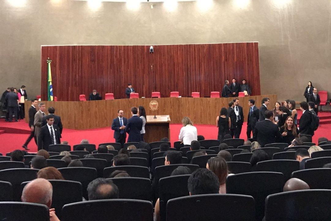 Juízes chegam ao TSE para julgamento da ação que pode cassar a chapa Dilma-Temer - 06/06/2017