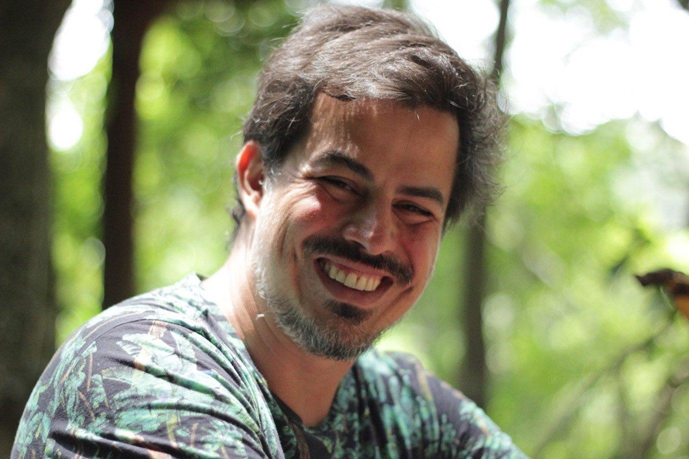O designer Wolfgang Menke, 37 anos