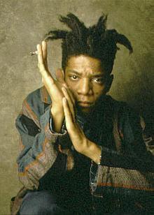 Artista americano Jean-Michel Basquiat