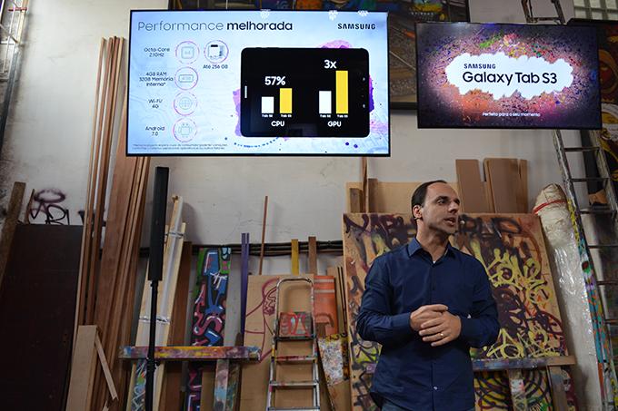 Lançamento Galaxy Tab S3