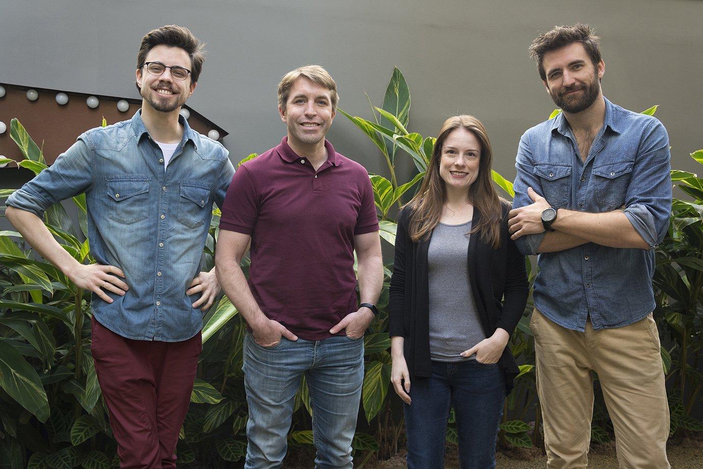 Equipe da startup Hondana