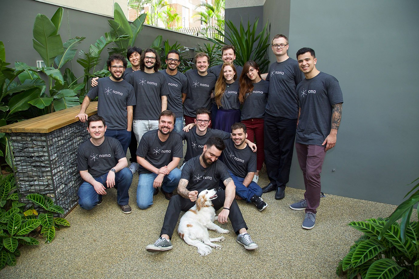 Equipe da startup Nama