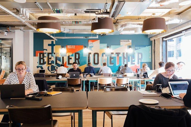 WEWORK: startup de escritórios compartilhados recebeu aporte de 4,4 bilhões do SoftBank / Divulgação