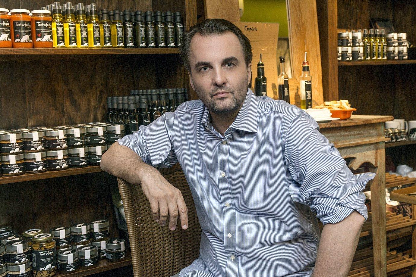 Lalo Zanini, empreendedor serial e dono da Tartuferia San Paolo