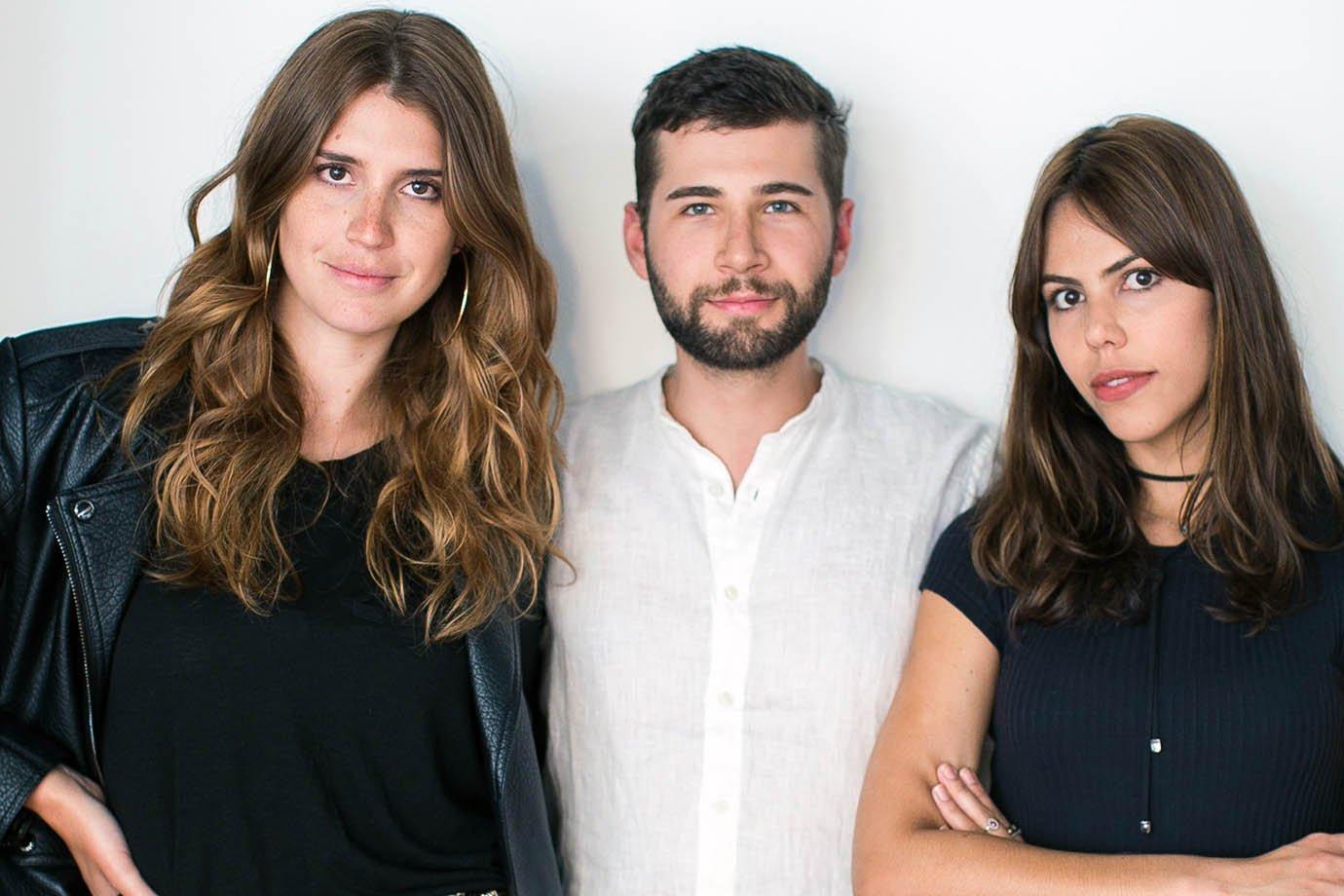 Manuela Bordasch, Arthur Chini e Catharina Dieterich, do Steal The Look
